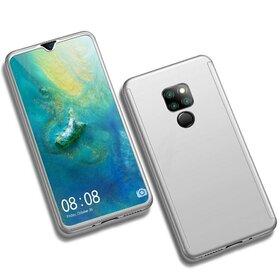 Husa 360 pentru Huawei Mate 20 Silver