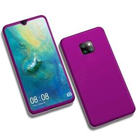 Husa 360 pentru Huawei Mate 20 Pro Purple