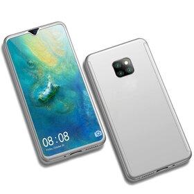 Husa 360 pentru Huawei Mate 20 Pro Silver