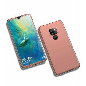 Husa 360 pentru Huawei Mate 20X Rose Gold