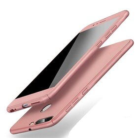 Husa 360 pentru Huawei P Smart (2018) Rose Gold