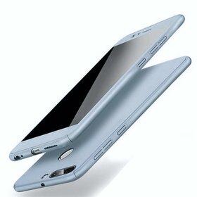 Husa 360 pentru Huawei P Smart (2018) Silver