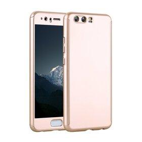 Husa 360 pentru Huawei P10 Gold