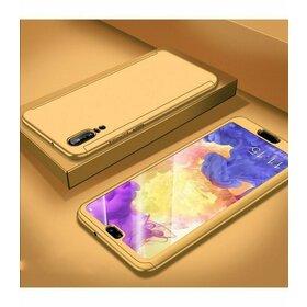 Husa 360 pentru Huawei P20  Gold