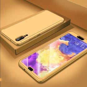 Husa 360 pentru Huawei P20 Pro Gold