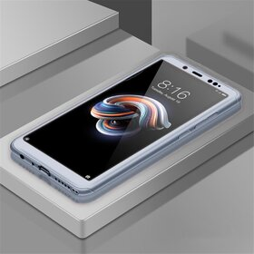 Husa 360 pentru Huawei P40 Lite Silver