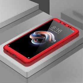 Husa 360 pentru Huawei P40 Lite Red