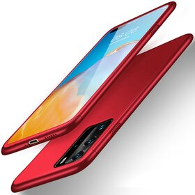 Husa 360 pentru Huawei P40 Pro Red