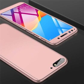 Husa 360 pentru Huawei Y5 (2018) Rose Gold