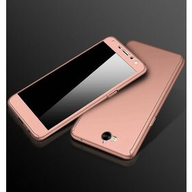 Husa 360 pentru Huawei Y6 (2017) Rose Gold