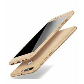 Husa 360 pentru Huawei Y7 (2018)/ Huawei Y7 Prime (2018) Gold