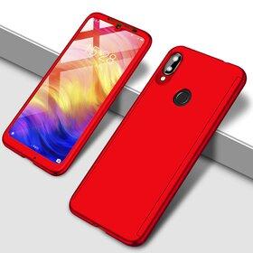 Husa 360 pentru Huawei Y7 Prime (2019)/ Huawei Y7 (2019) Red