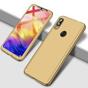 Husa 360 pentru Huawei Y9 (2019) Gold