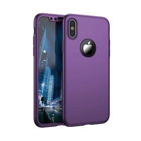 Husa 360 pentru iPhone X Purple