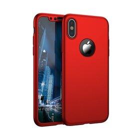 Husa 360 pentru iPhone X Red