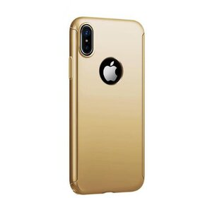 Husa 360 Joyroom pentru iPhone X/ iPhone XS Gold
