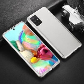Husa 360 pentru Samsung Galaxy A31 Silver