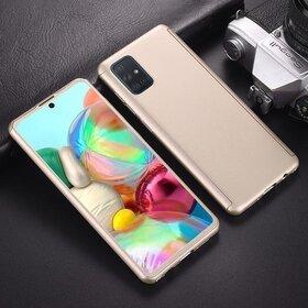 Husa 360 pentru Samsung Galaxy A41 Gold