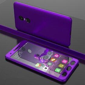 Husa 360 pentru Xiaomi Redmi Note 4 Purple