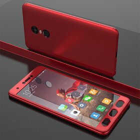 Husa 360 pentru Xiaomi Redmi Note 4 Red
