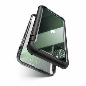 Husa 360 Supcase Ares + Folie Ecran pentru iPhone 11 Pro Black
