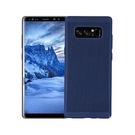Husa Air cu perforatii pentru Galaxy Note 8 Blue