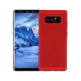 Husa Air cu perforatii pentru Galaxy Note 8 Red