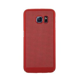 Husa Air cu perforatii pentru Galaxy S6 Edge Red