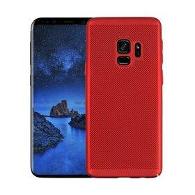 Husa Air cu perforatii pentru Galaxy S9 Plus Red