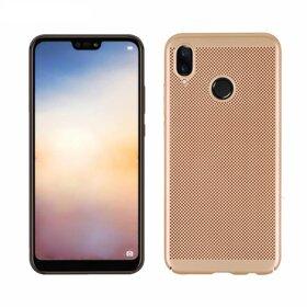 Husa Air cu perforatii pentru Huawei P20 lite (2018) Gold