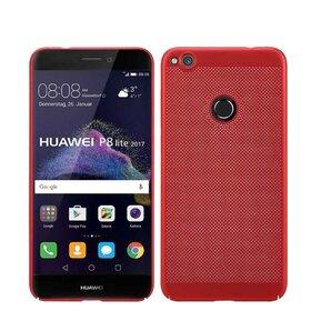 Husa Air cu perforatii pentru Huawei P8 Lite (2017) Red