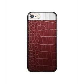 Husa Alligator  iPhone 7+ Red