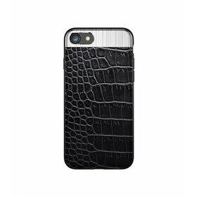 Husa Alligator pentru iPhone 7 Plus Black
