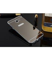 Husa Aluminium Mirror pentru Galaxy A7 (2017)
