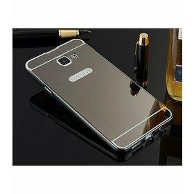 Husa Aluminium Mirror pentru Galaxy A3 (2017) Gunmetal