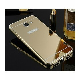 Husa Aluminium Mirror pentru Galaxy A3 (2017) Gold