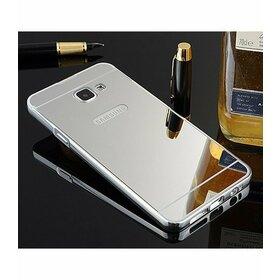Husa Aluminium Mirror pentru Galaxy A3 (2017) Silver