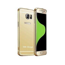 Husa Aluminium Mirror pentru Galaxy S6 Edge