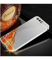 Husa Aluminium Mirror pentru Huawei P10