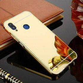 Husa Aluminium Mirror pentru Huawei P20 lite
