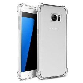 Husa Antisoc Air Transparenta pentru Galaxy S6 Edge