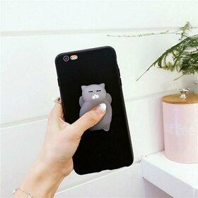 Husa Antistres Kitty pentru iPhone 7