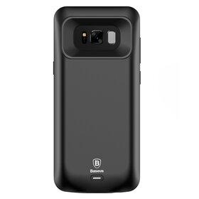 Husa Baterie Externa pentru Galaxy S8 Plus Black