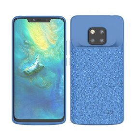 Husa cu Baterie Externa pentru Huawei Mate 20 Pro Blue