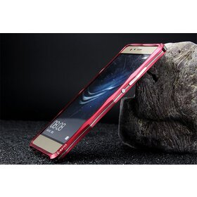 Bumper cu stand pentru Huawei P9 Red