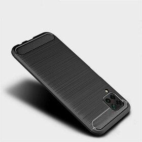 Husa Carbon din TPU flexibil pentru Huawei P40 Lite Black