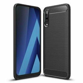 Husa Carbon din TPU flexibil pentru Samsung Galaxy A50