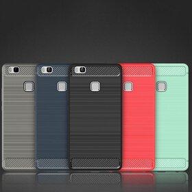 Husa Carbon Fiber pentru Huawei P9 lite