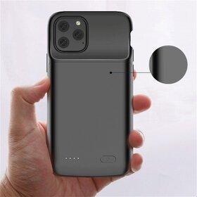 Husa cu baterie externa Slim pentru iPhone 11 Pro Black