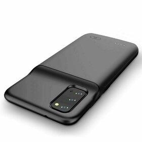 Husa cu baterie externa Tech-Protect 4800mAh pentru Samsung Galaxy S20 Plus Black